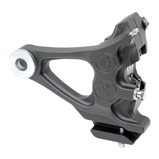 Performance Machine Four-Piston Differential-Bore Rear Calipers For Harley Softail 2000-2007