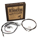 Burly Handlebar Installation Kit For Harley Street/Electra Glide w/o ABS 2008-2013