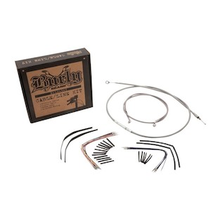 Burly Handlebar Installation Kit For Harley Road King/Glide w/ ABS 2008-2013