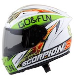 Scorpion EXO-R2000 Bautista Helmet (Size XL Only)