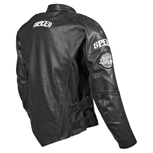 Speed And Strength Twist of Fate 3.0 Leather Motorcycle Jacket - Black