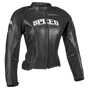 Speed and Strength Throttle Body Women's Leather Jacket