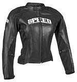 Speed and Strength Women's Throttle Body Leather Jacket