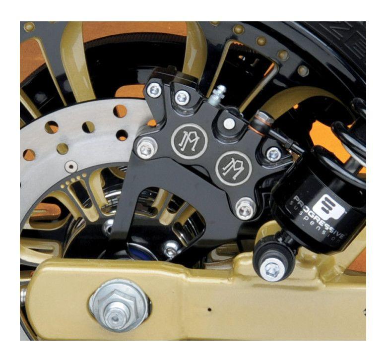 Performance Machine Classic Rear Caliper Kit For Harley Dyna