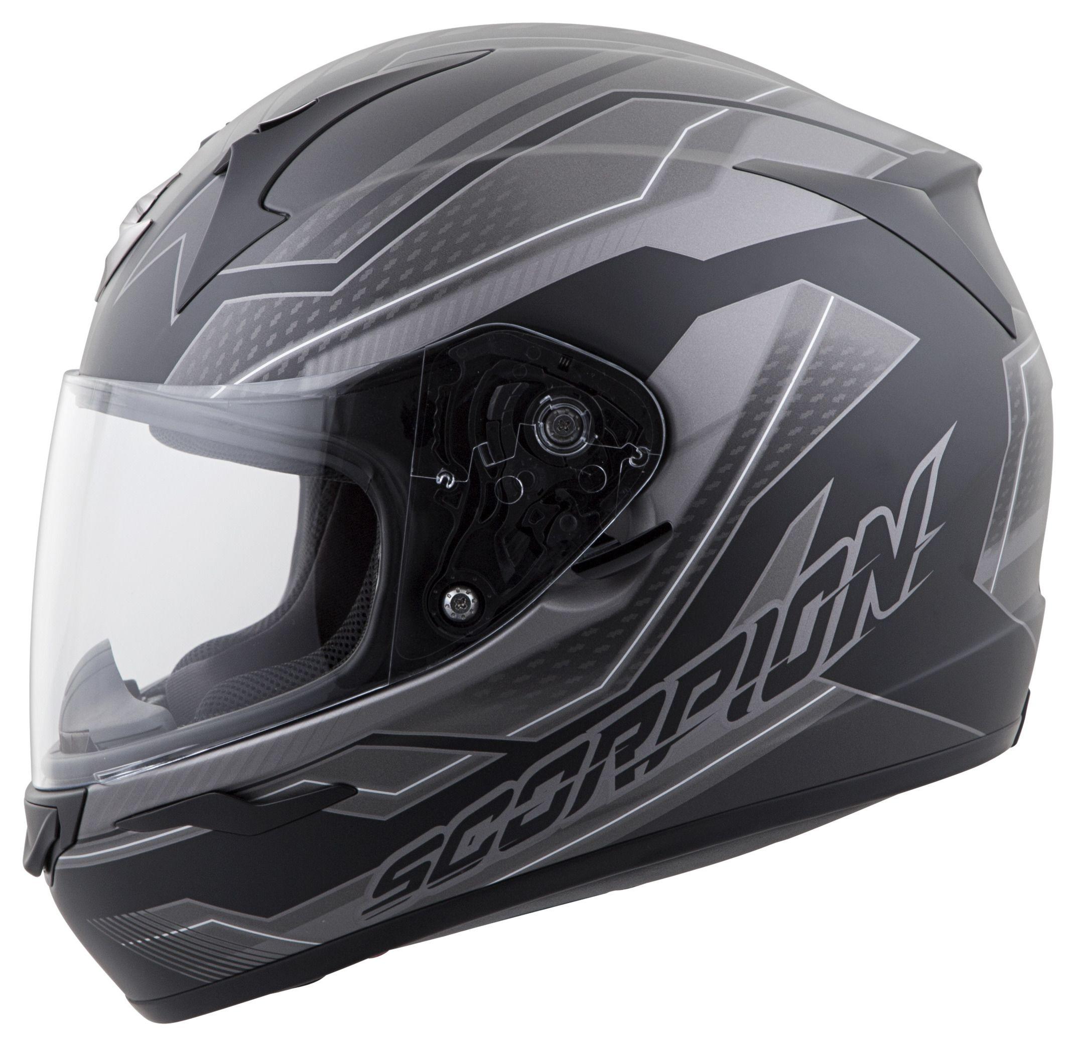 scorpion exo r410 airline helmet revzilla. Black Bedroom Furniture Sets. Home Design Ideas