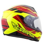 Scorpion EXO-R410 Red/Neon Airline Helmet