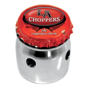 LA Choppers Bottle Cap Choke Knob For Harley