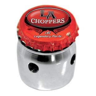 LA Choppers Bottle Cap Choke Knob For Harley 1988-2006