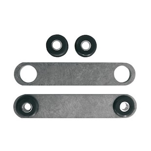 LA Choppers Weld On Gas / Oil Tank Rubber Mount Brackets