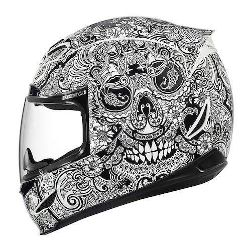 Icon Helmet Graphics Helmet White · Icon