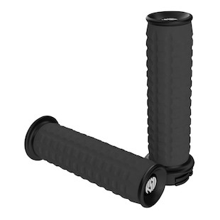 Roland Sands Traction Grips For Harley With Dual Cable Throttle