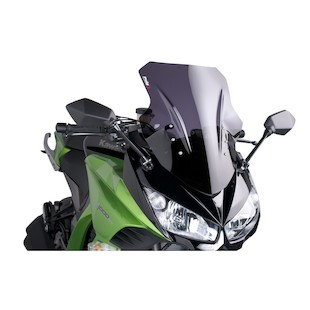 Puig Racing Windscreen Kawasaki Ninja 1000 2011-2014 Smoke [Previously Installed]