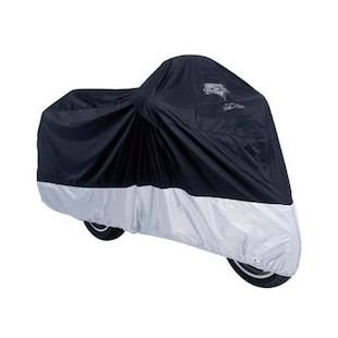 Nelson Rigg Deluxe All Season Cover Black/Silver / 2XL [Blemished]