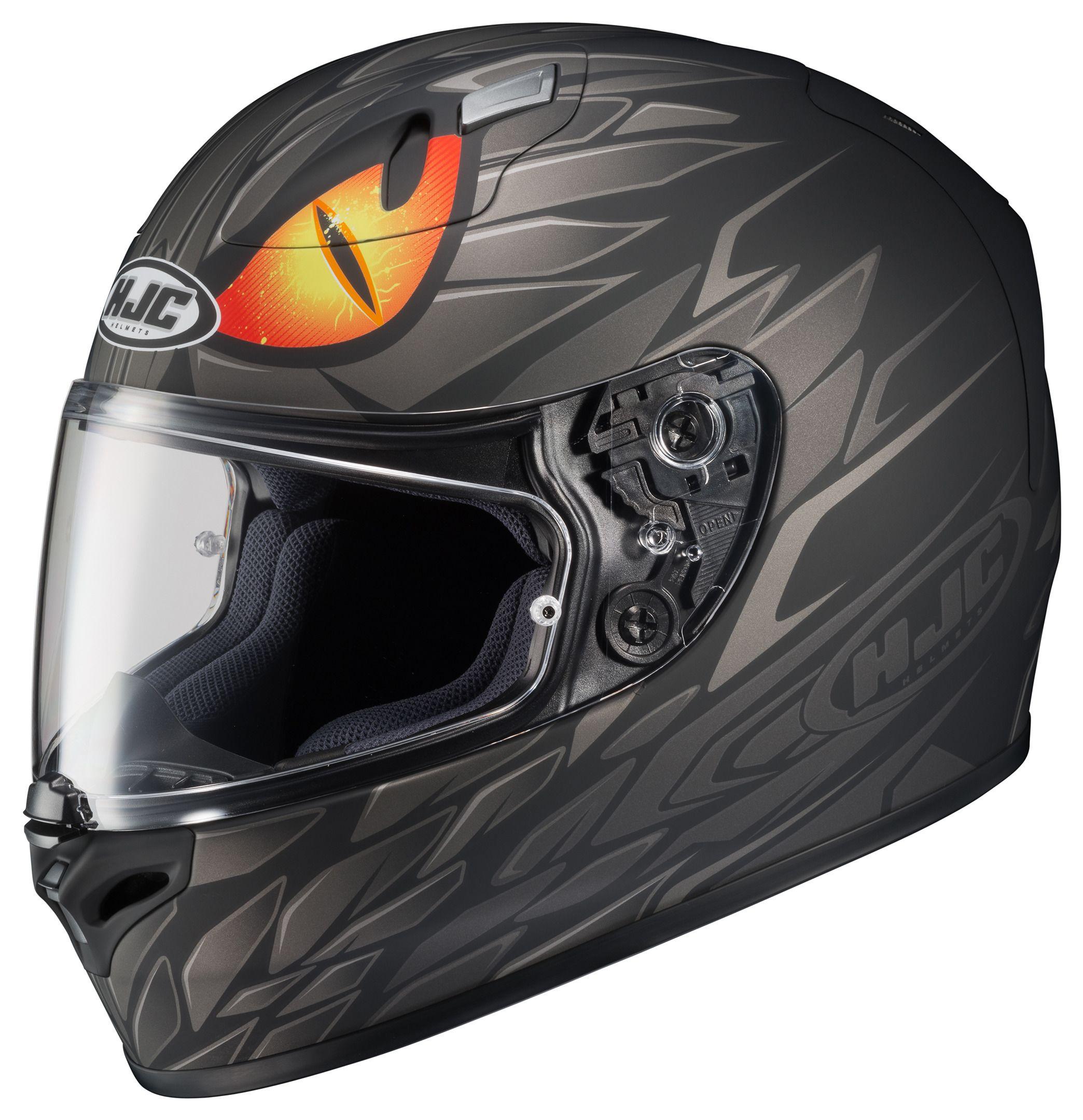Hjc Fg 17 >> HJC FG-17 Lorenzo Mamba Helmet [Size XL Only] - RevZilla