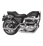 "Cycle Shack 1 3/4"" M-Pipes Exhaust For Harley Sportster 1979"