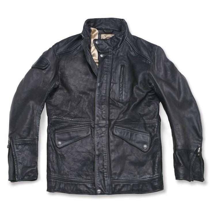Roland Sands Domino Leather Jacket Black / 2XL [Blemished]