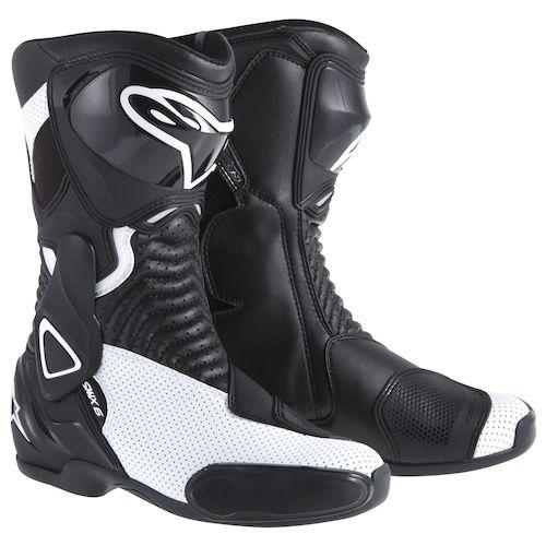 alpinestars stella smx 6 vented boots revzilla. Black Bedroom Furniture Sets. Home Design Ideas