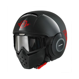 Shark Raw Trinity Helmet Black/Red/Black / SM [Blemished]