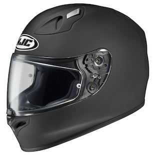 HJC FG-17 Helmet - Solid Matte Black / SM [Blemished]