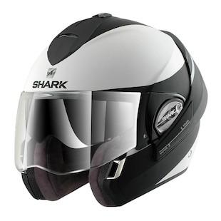 Shark Evoline 3 ST Hakka Helmet Matte White/Black / LG [Demo]