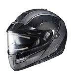 HJC IS-MAX BT Sprint Snow Helmet - Electric Shield Black/Grey / MD [Blemished]