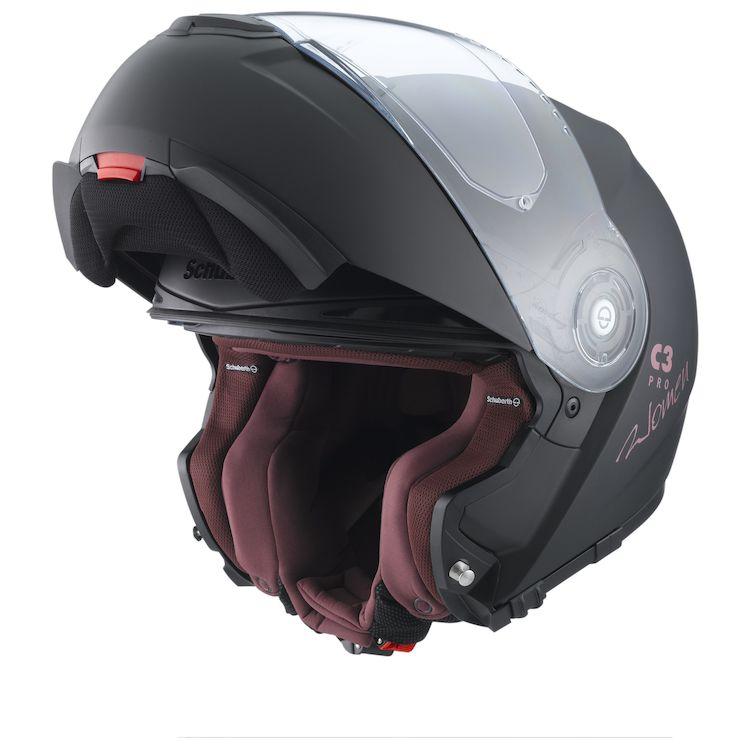 Schuberth C3 Pro Women's Helmet Matte Black / MD (56/57) [Open Box]