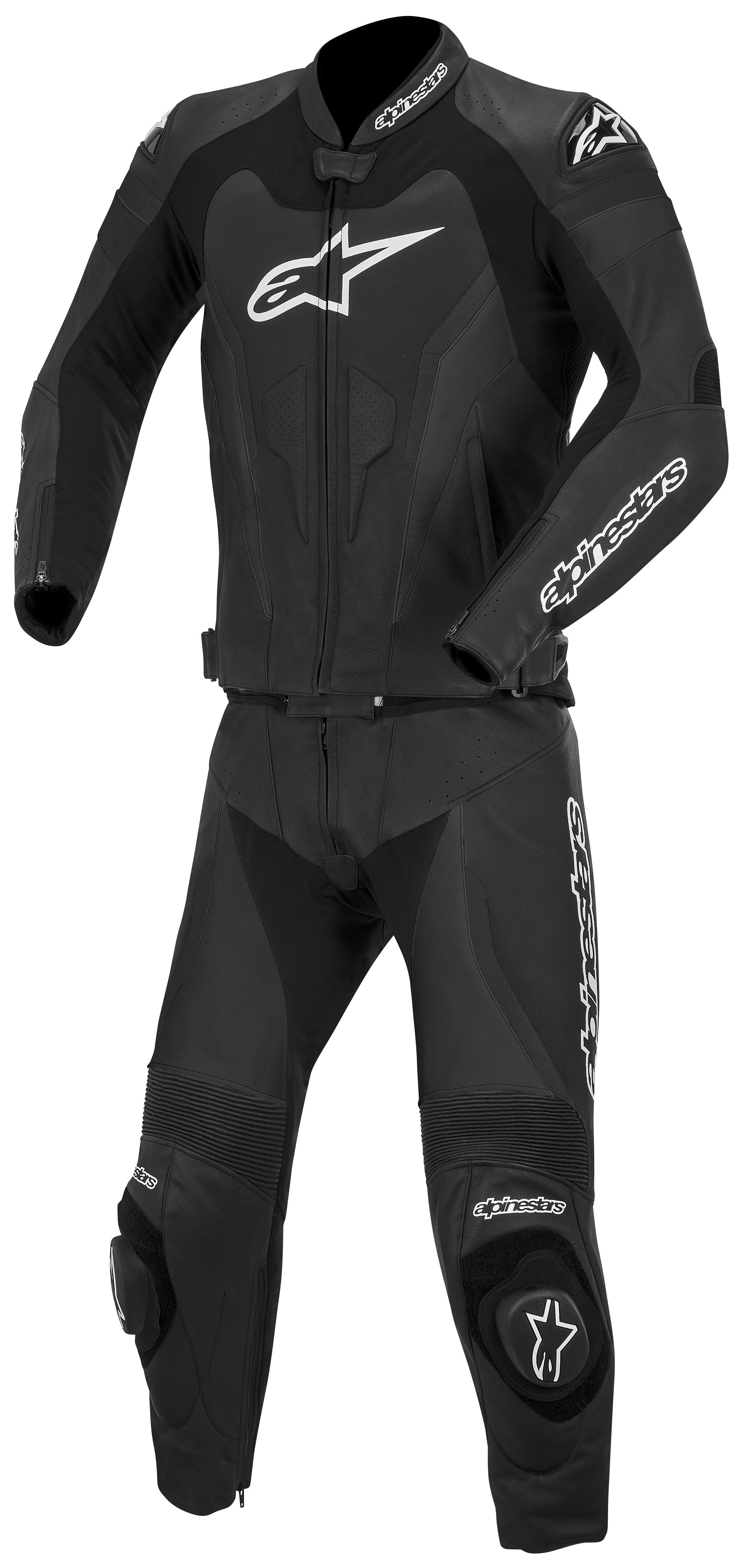 alpinestars gp pro 2 piece race suit revzilla. Black Bedroom Furniture Sets. Home Design Ideas