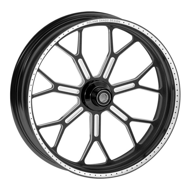 Roland Sands 21 X 2 15 Front Wheel For Harley Softail 2007 2013