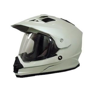 AFX FX-39 Dual Sport Helmet White / MD [Blemished]