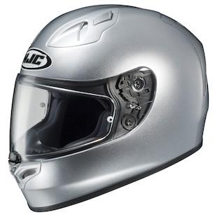 HJC FG-17 Helmet - Solid Silver / LG [Blemished]