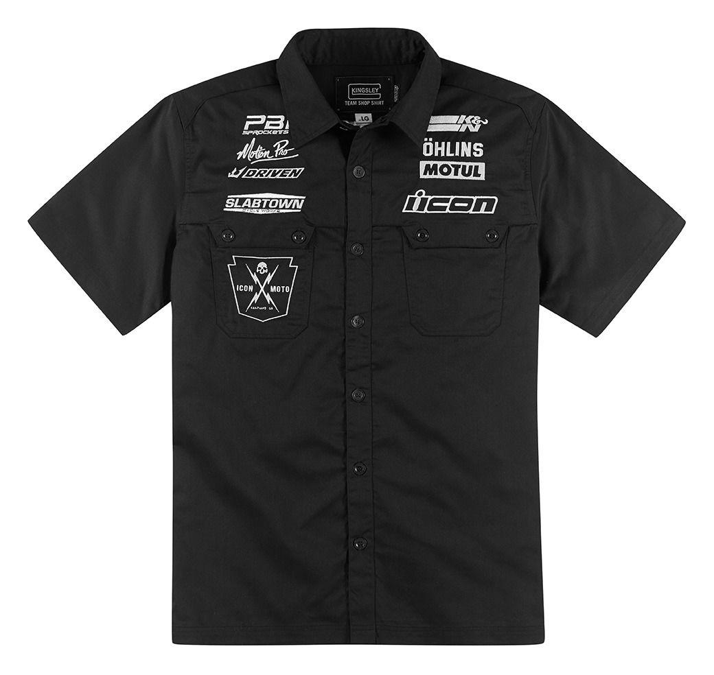 Icon Kingsley Hero Work Shirt 23 15 00 Off Revzilla