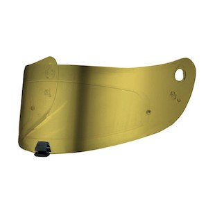 HJC HJ-17 Pinlock-Ready Face Shield Gold [Previously Installed]