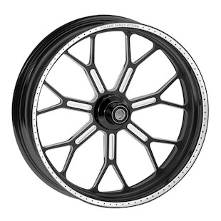 "Roland Sands 23"" x 3.5"" Delmar Front Wheel For Dual Disc Harley Touring 2008-2013"