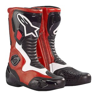 Alpinestars S-MX 5 Boot Red/White / 46 [Blemished]