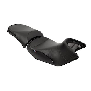 Sargent World Sport Adventure Seat BMW R1200GS / GSA 2004-2008 Black/Black / Standard Seat Height Front Only [Previously Installed]