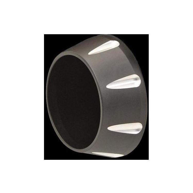 Tapered Black Fluted End Cap