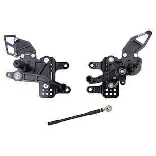 Driven Racing D-Axis Rearset Kawasaki ZX10R 2006-2010