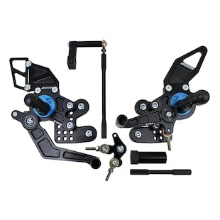 Driven Racing D-Axis Rearset Yamaha FZ1/FZ8