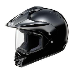 Shoei Hornet DS Helmet Black / LG [Blemished]