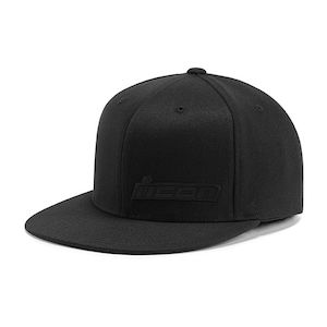 Icon Motorsports Corp Logo Mens Caps Motorcycle Street Fitted Hats