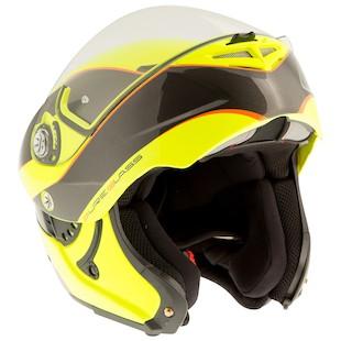 LaZer Monaco Window Hi-Viz Helmet
