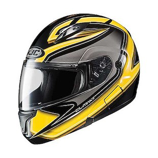 HJC CL-Max 2 Zader Helmet Black/Yellow/White / 2XL [Demo]