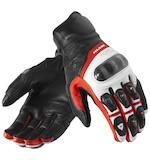 REV'IT! Chevron Gloves White/Red / 3XL [Blemished]