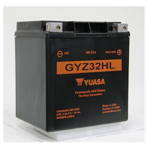Yuasa GYZ32HL Factory Activated AGM High Performance Battery