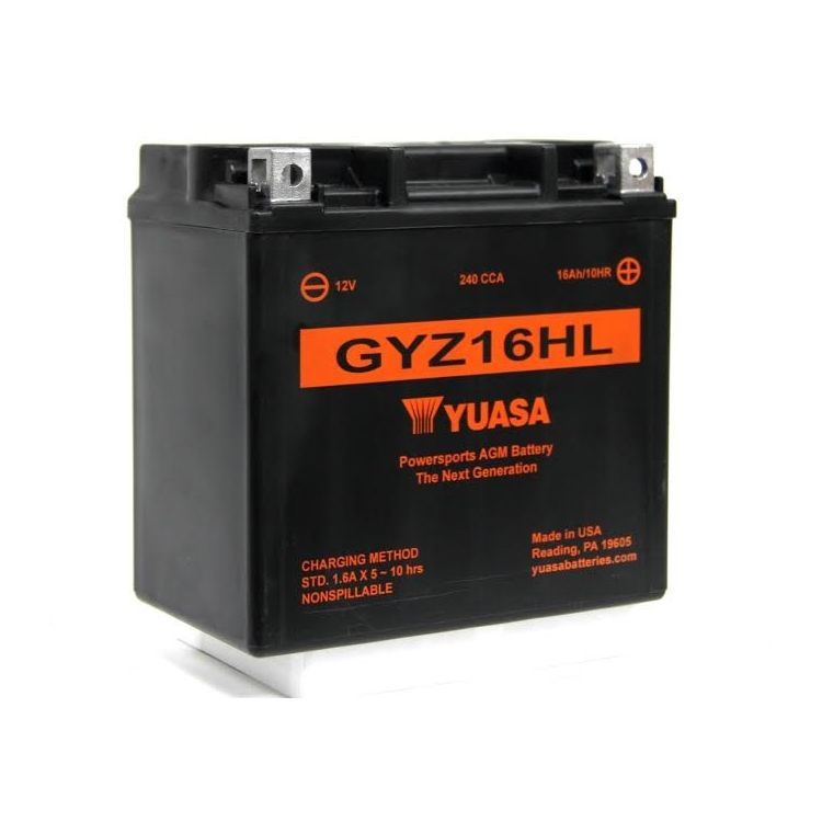 Yuasa GYZ16HL Factory Activated AGM High Performance Battery