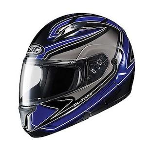 HJC CL-Max 2 Zader Helmet Black/Blue/White / SM [Blemished]