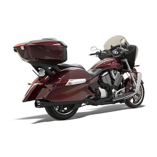 Bassani Road Rage 2-Into-1 Exhaust System For Victory 2010-2015