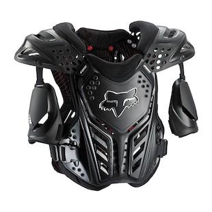 Fox Racing Raceframe Roost Deflector Black / LG [Blemished]