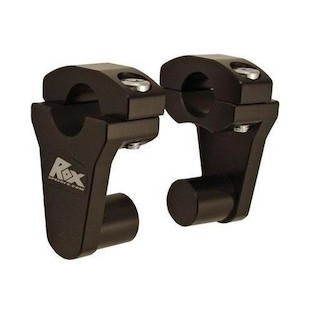"Rox Elite Pivot Risers for 7/8"" or 1 1/8"" Handlebars Black / 3 1/2"" Rise [Previously Installed]"