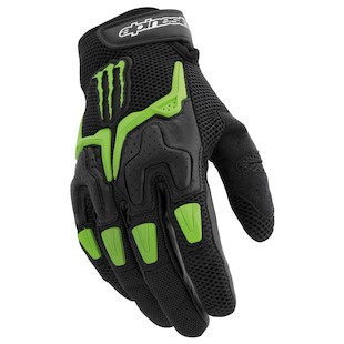 Alpinestars M20 Air Gloves Black/Green / MD [Demo]
